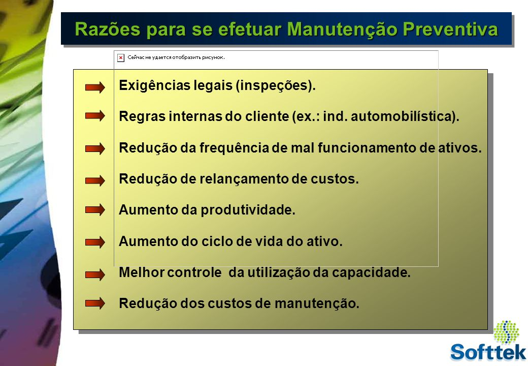 Plano de Manutenção Preventiva Plano de Manutenção Programação Ordem de Manutenção Dados de Planejamento Material Capacidade interna Contratar fornecedor Movimentação de material Encerramento Recebimento Relatórios Técnicos Histórico