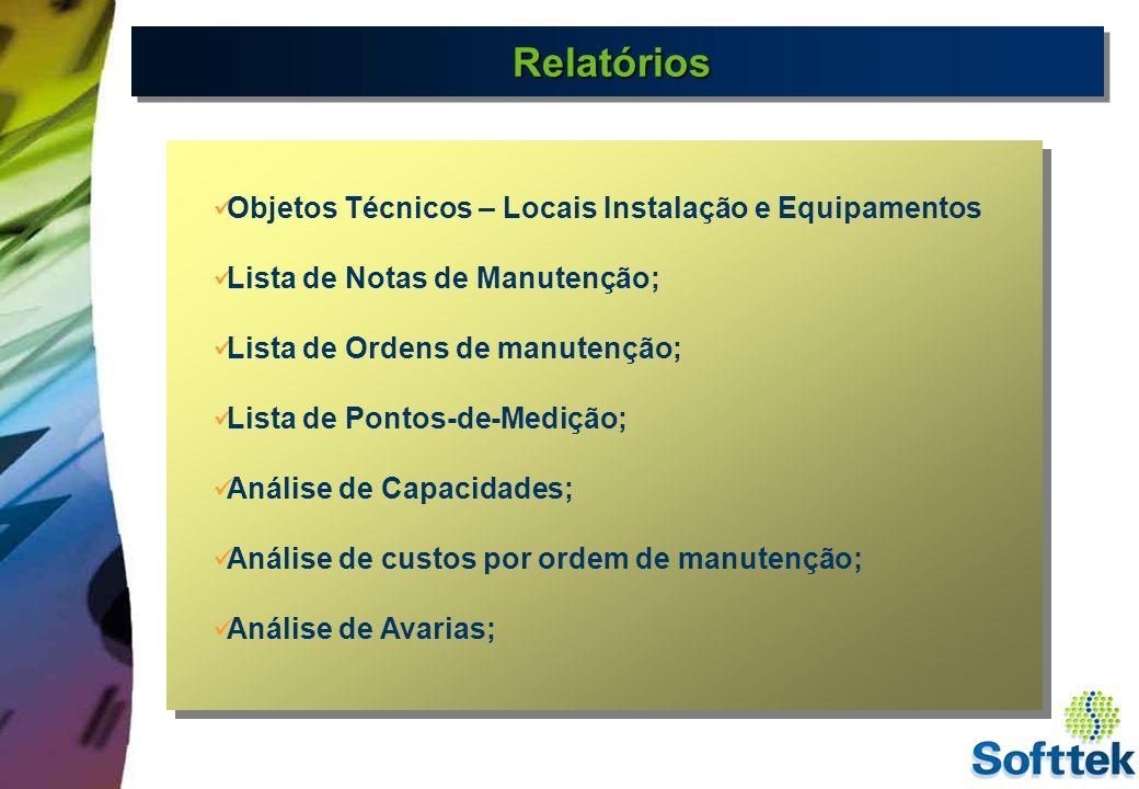 HistóricoHistórico SAP R/3 - MANUTENÇÃO