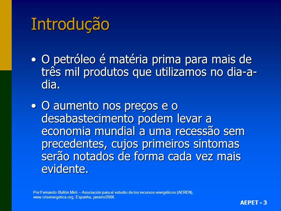 AEPET - 44 Comparação entre as Estruturas de Preços de Gasolina no Brasil e nos EUA (janeiro 2002) E U A Brasil US$/galãoR$/litroR$/litro Preço ao consumidor (bomba) Preço ao consumidor (bomba)1,41 0,9_ 1,62 Parcela do refinador Parcela do refinador 0,9_ 0,580,23 19% 30% 44% 7% 14,2% 53,6% 10% 22,2% Óleo cru + Refino Impostos Álcool Distribuição + Revenda Distribuição + Revenda Impostos Refino Óleo cru Fonte: Petrobrás/Abast.