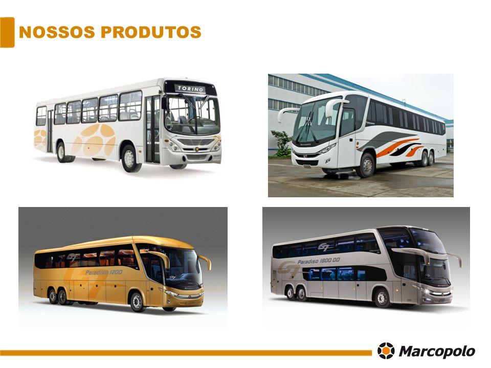 UNIDADES BRT Bus Rapid Transit, onibus destinados ao transporte urbano das grandes cidades.