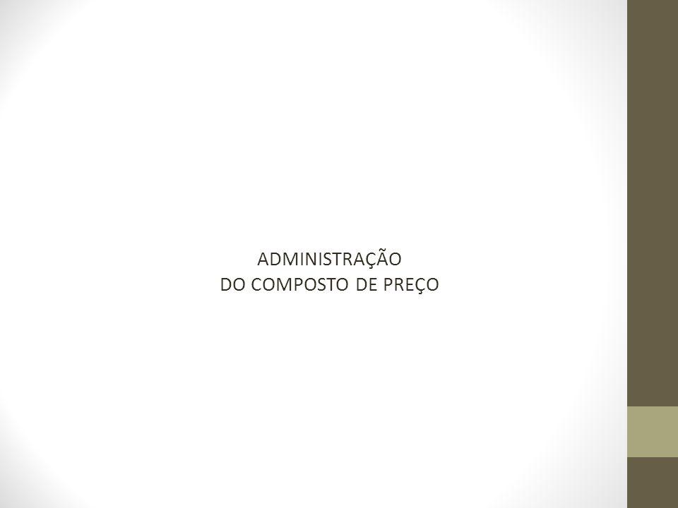 ADMINISTRAÇÃO DO COMPOSTO DE PREÇO