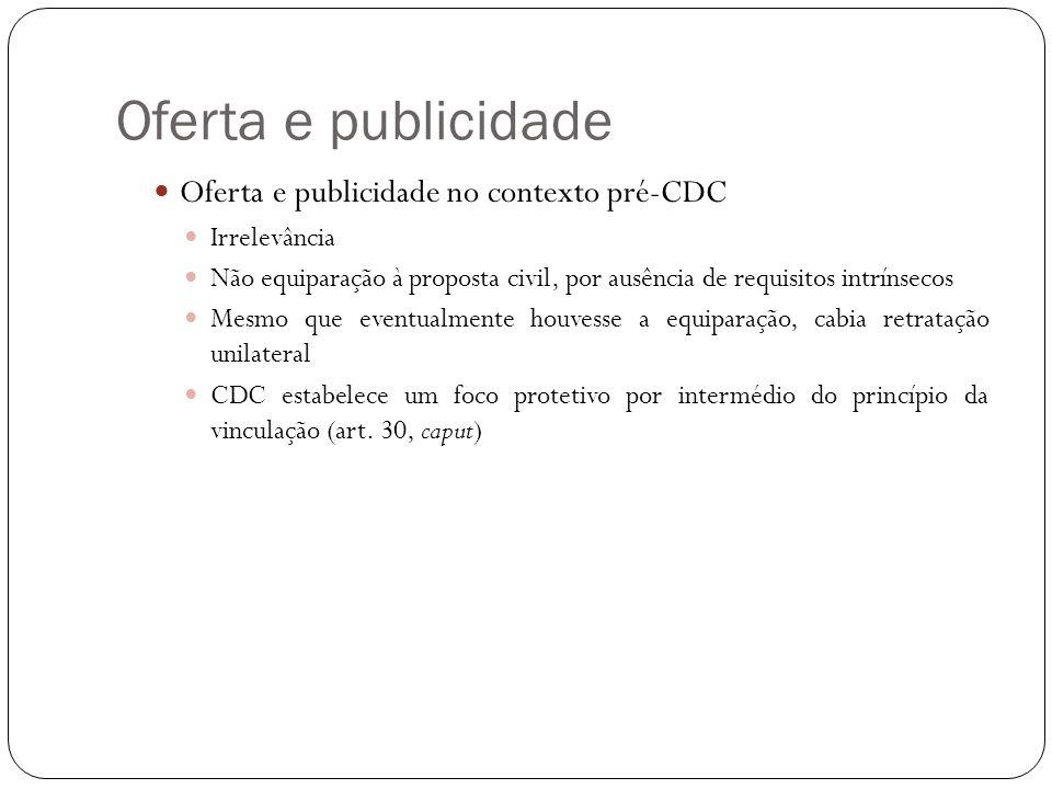 Oferta e publicidade Princípio da vinculação Requisitos Veiculação da informação Informação suficientemente precisa oPuffing oPuffing e preço
