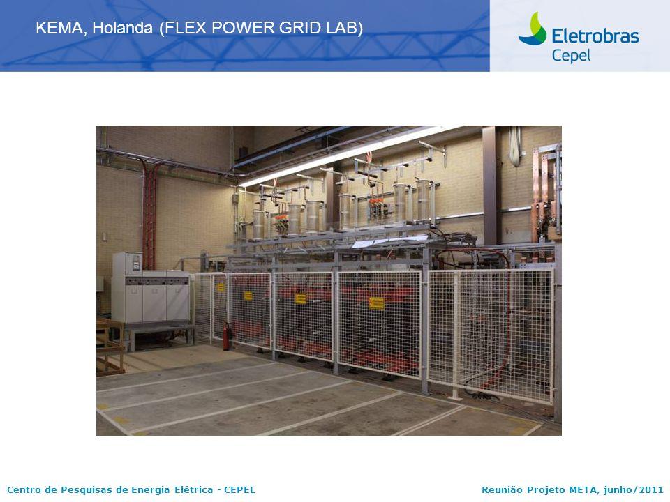 Centro de Pesquisas de Energia Elétrica - CEPELReunião Projeto META, junho/2011 KEMA, Holanda (FLEX POWER GRID LAB)