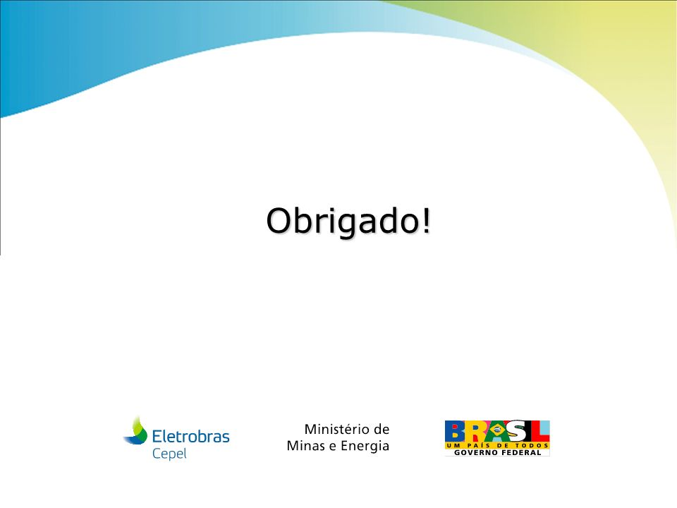 Centro de Pesquisas de Energia Elétrica - CEPELReunião Projeto META, junho/2011 Obrigado!