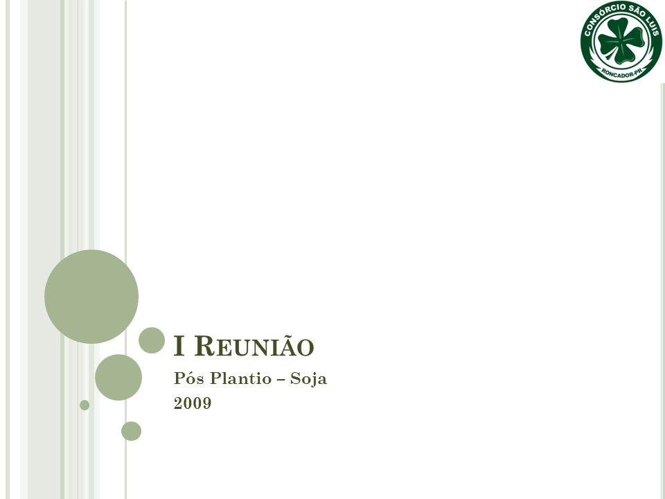 I R EUNIÃO Pós Plantio – Soja 2009