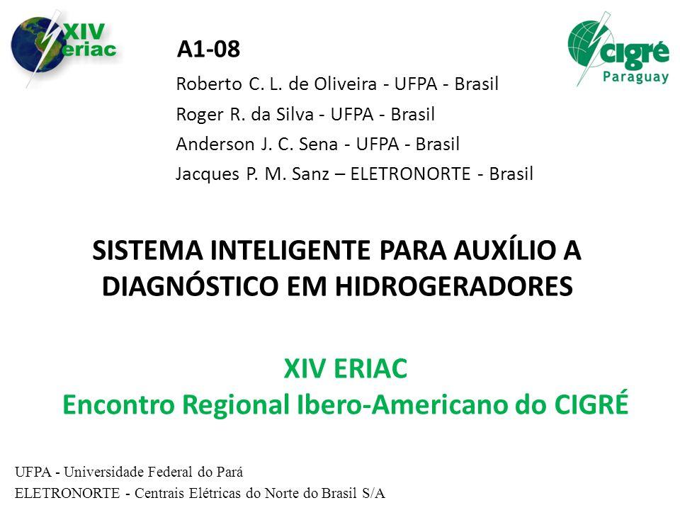 SISTEMA INTELIGENTE PARA AUXÍLIO A DIAGNÓSTICO EM HIDROGERADORES Roberto C. L. de Oliveira - UFPA - Brasil Roger R. da Silva - UFPA - Brasil Anderson