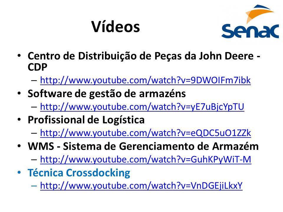 Vídeos Centro de Distribuição de Peças da John Deere - CDP – http://www.youtube.com/watch?v=9DWOIFm7ibk http://www.youtube.com/watch?v=9DWOIFm7ibk Sof