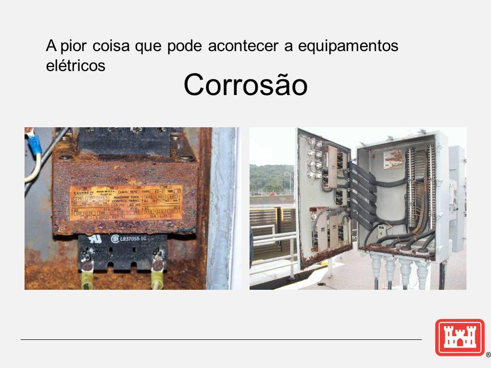 Corrosão A pior coisa que pode acontecer a equipamentos elétricos