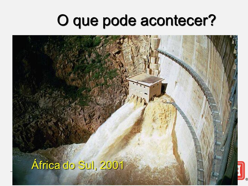 O que pode acontecer? África do Sul, 2001