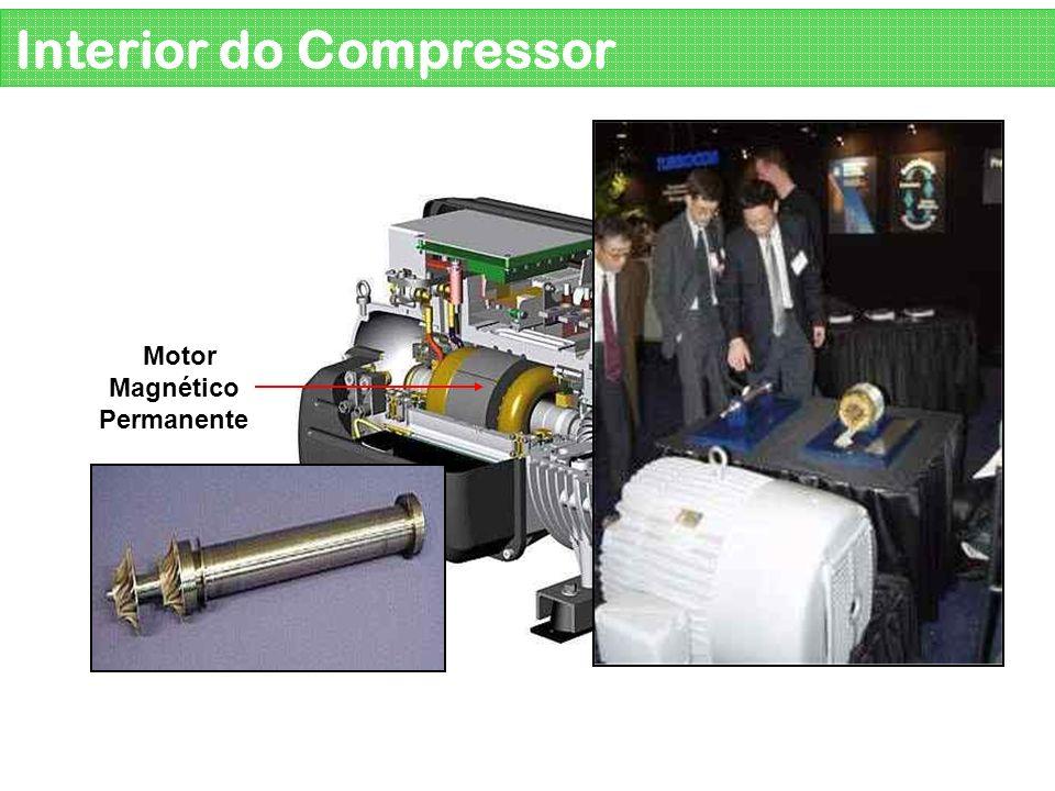 Rolamento Magnético Interior do Compressor