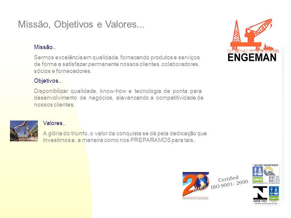Certified ISO 9001- 2000 Missão..