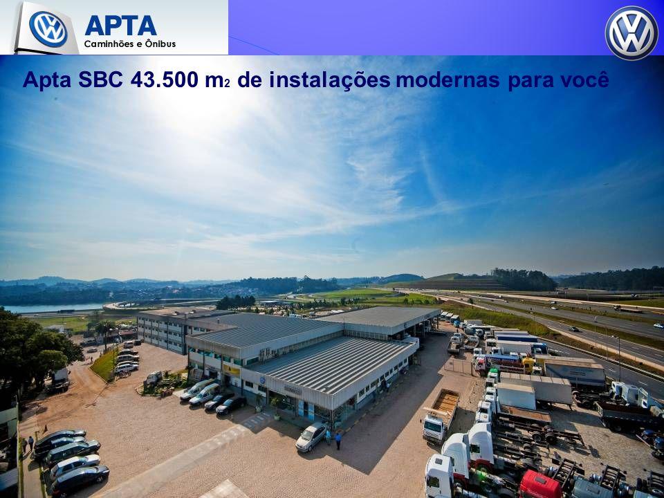 Apta SBC 43.500 m 2 de instalações modernas para você