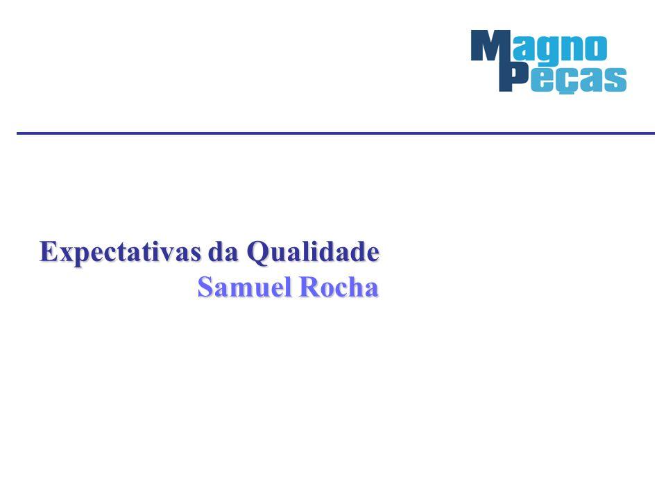 Expectativas da Qualidade Samuel Rocha