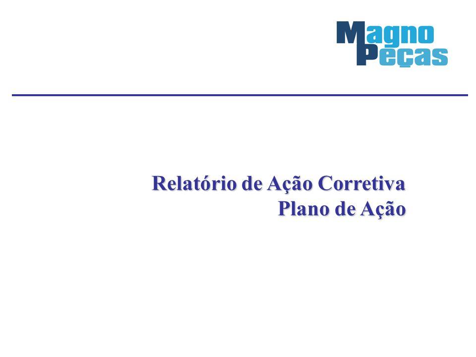 Relatório de Ação Corretiva Plano de Ação