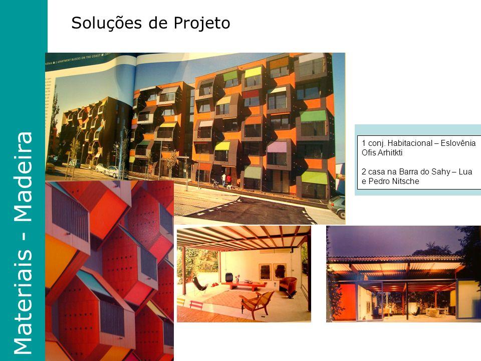 Materiais - Madeira Soluções de Projeto 1 conj.