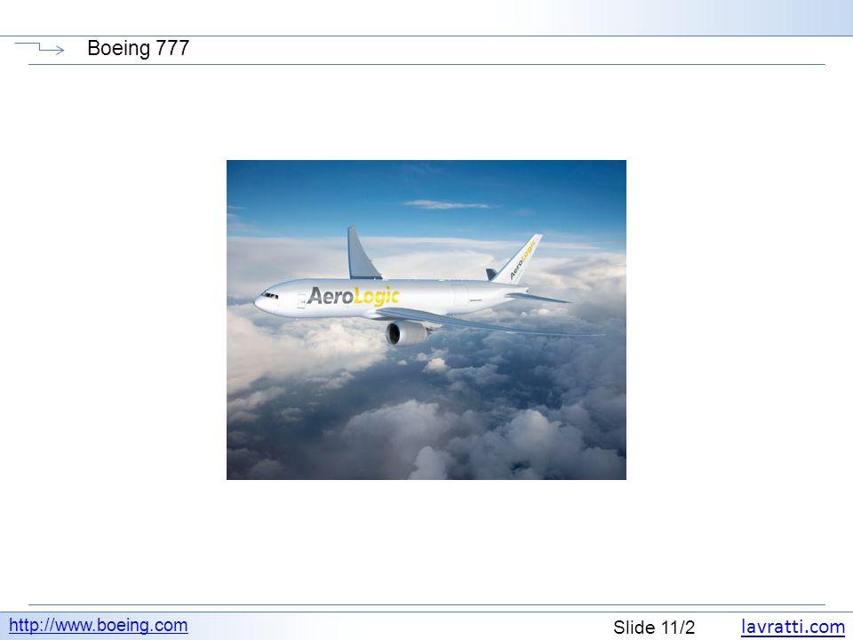 lavratti.com Slide 11/2 Boeing 777 http://www.boeing.com