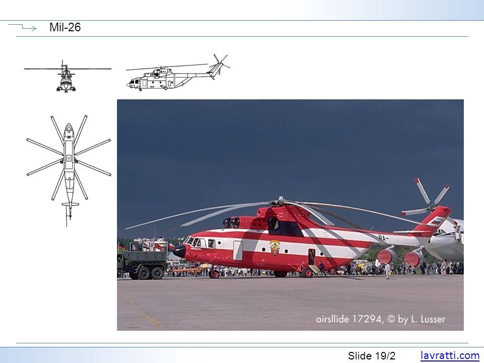 lavratti.com Slide 19/2 Mil-26