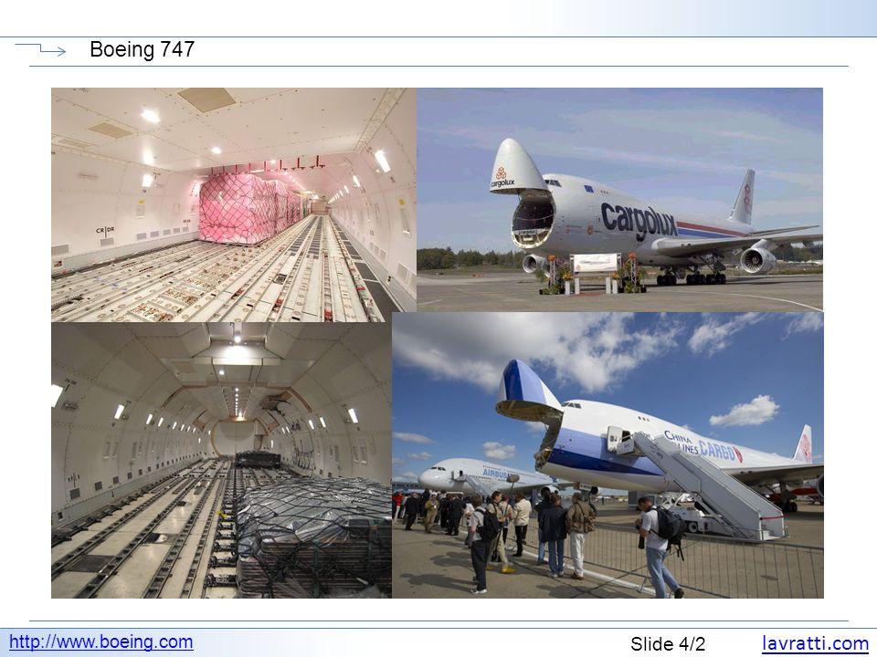 lavratti.com Slide 5/2 Boeing 747 http://www.boeing.com