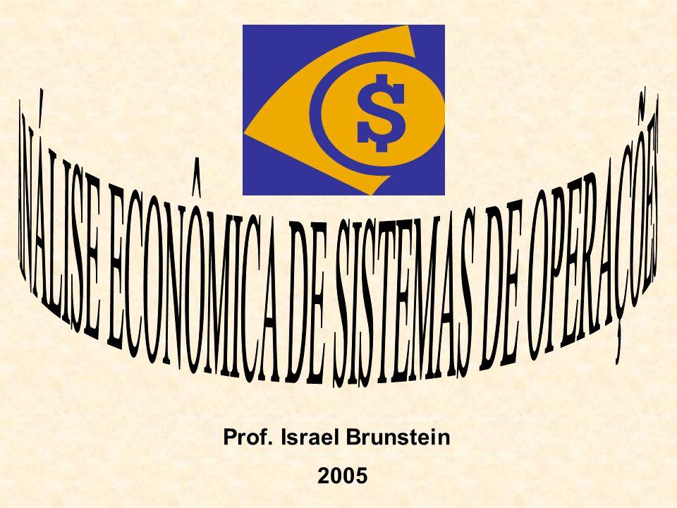 Prof. Israel Brunstein 2005