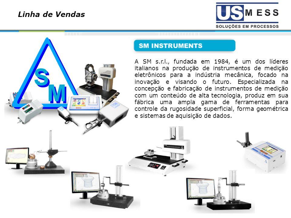 A SM s.r.l., fundada em 1984, é um dos líderes italianos na produção de instrumentos de medição eletrônicos para a indústria mecânica, focado na inova