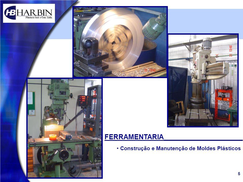 5 FERRAMENTARIA_____________________ Construção e Manutenção de Moldes Plásticos
