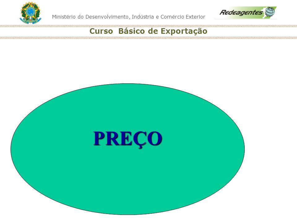 Ministério do Desenvolvimento, Indústria e Comércio Exterior Curso Básico de Exportação PREÇO