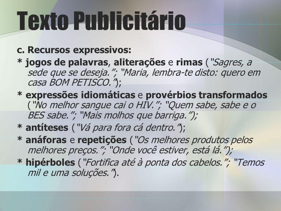 Texto Publicitário c.
