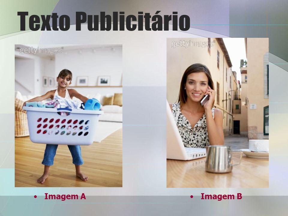 Texto Publicitário Imagem AImagem B