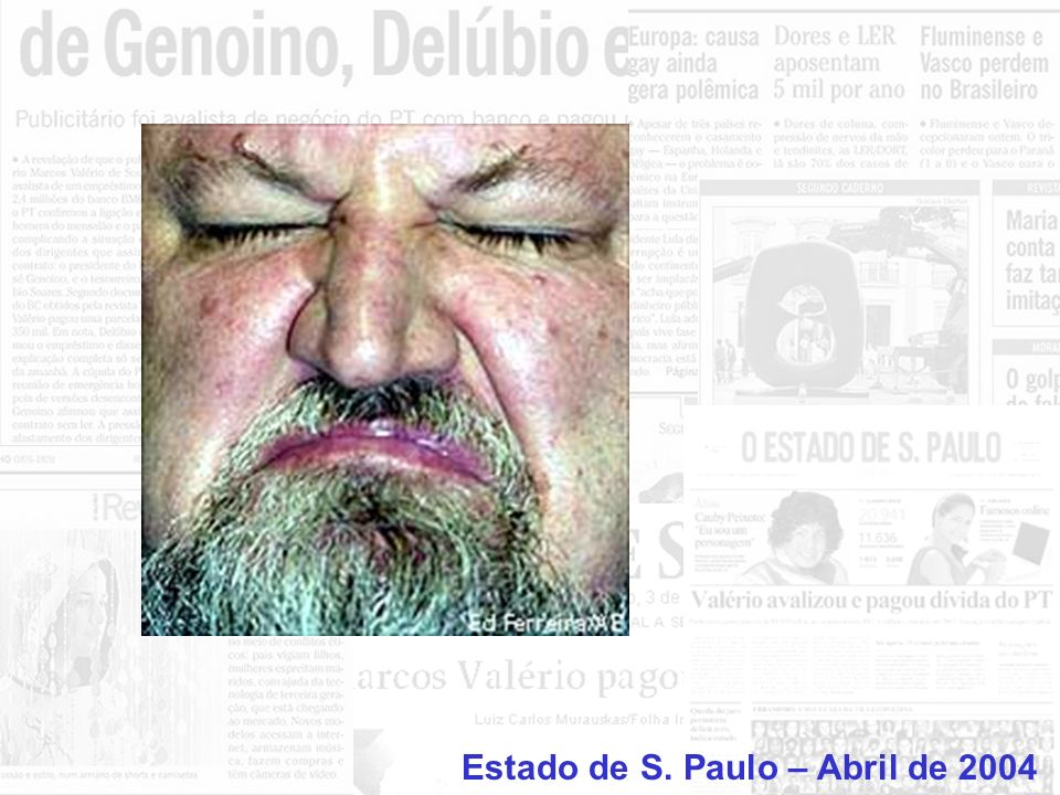 + = Los Angeles Times – março de 2003