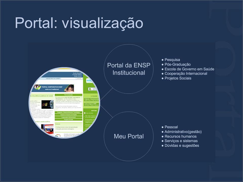 Portal: visualização