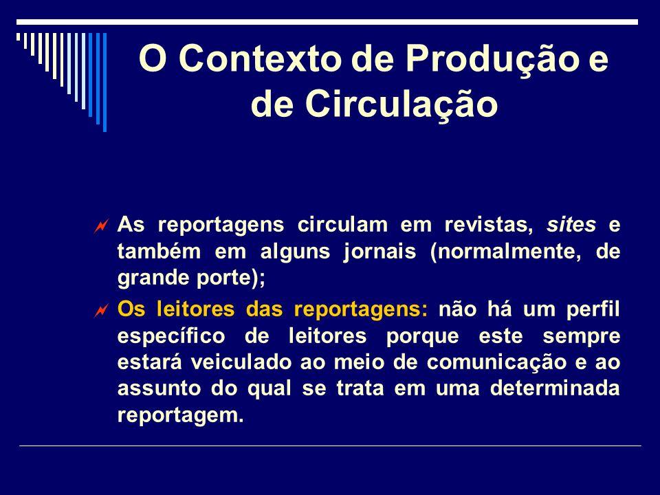 A estrutura do texto Algumas reportagens trazem um comentário inicial chamado lide.