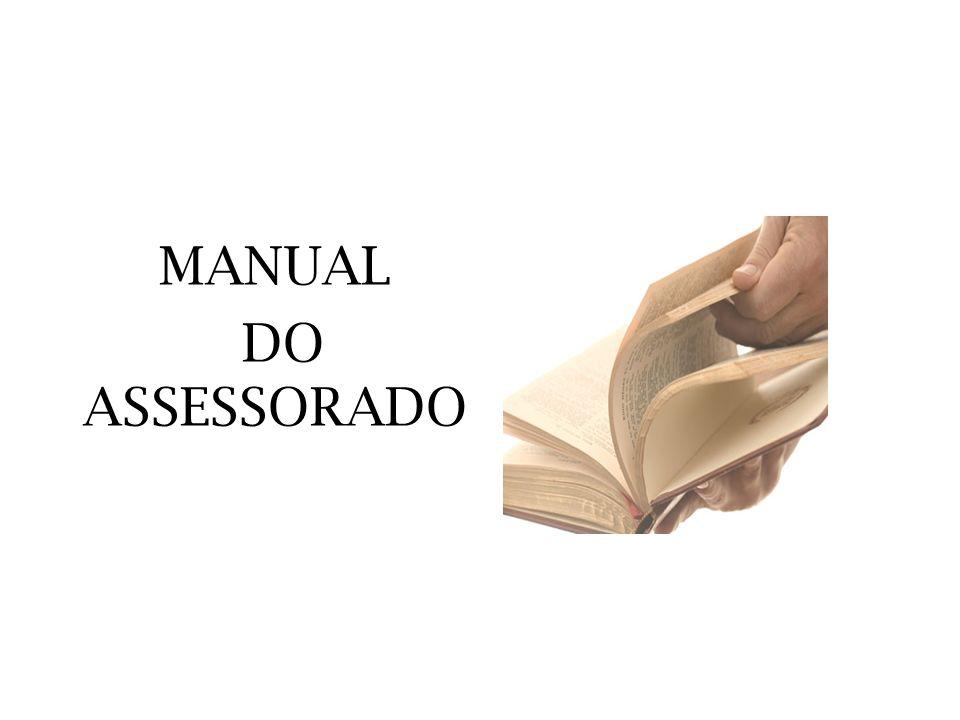 MANUAL DO ASSESSORADO