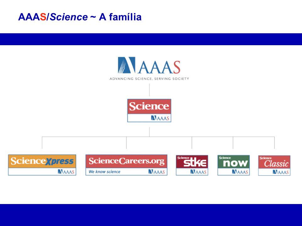 AAAS/Science ~ A família