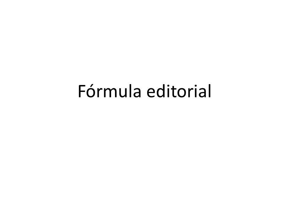 Fórmula editorial