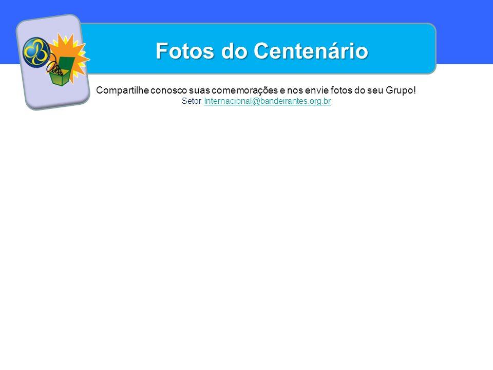 Uma das muitas atividades da qual você pode tomar parte para a Celebração deste ano do Centenário é plantar 100 mensagens para que diferentes grupos do Brasil e do Mundo leiam.