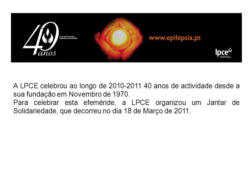 A LPCE celebrou ao longo de 2010-2011 40 anos de actividade desde a sua fundação em Novembro de 1970. Para celebrar esta efeméride, a LPCE organizou u