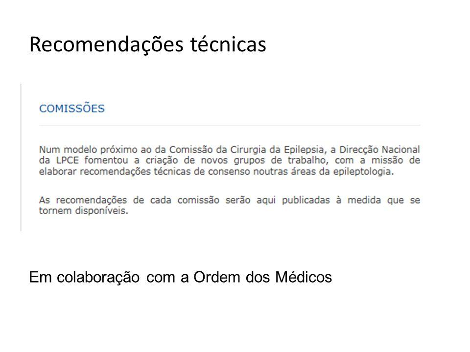 Referenciação Consultas multidisciplinares de Epilepsia Centros médico-cirúrgicos de Epilepsia http://www.epilepsia.pt/Imgs/plano- referenciaco-regional-da-zona-norte- aprovado.pdf