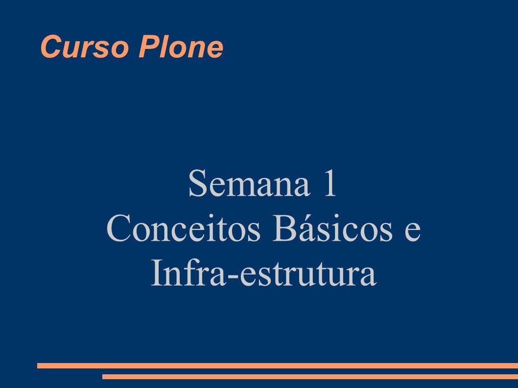 Curso Plone – Dia 1 O que é o Plone.Por que Plone.