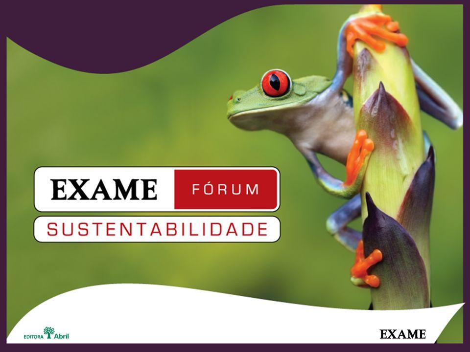 O EXAME Fórum Sustentabilidade Há mais de dez anos, EXAME colhe dados, analisa e publica práticas-modelo de responsabilidade social no ambiente de negócios brasileiro.