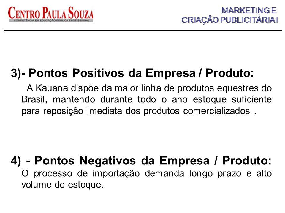 MARKETING E CRIAÇÃO PUBLICITÁRIA I MARKETING E CRIAÇÃO PUBLICITÁRIA I
