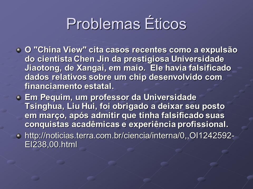 Problemas Éticos O