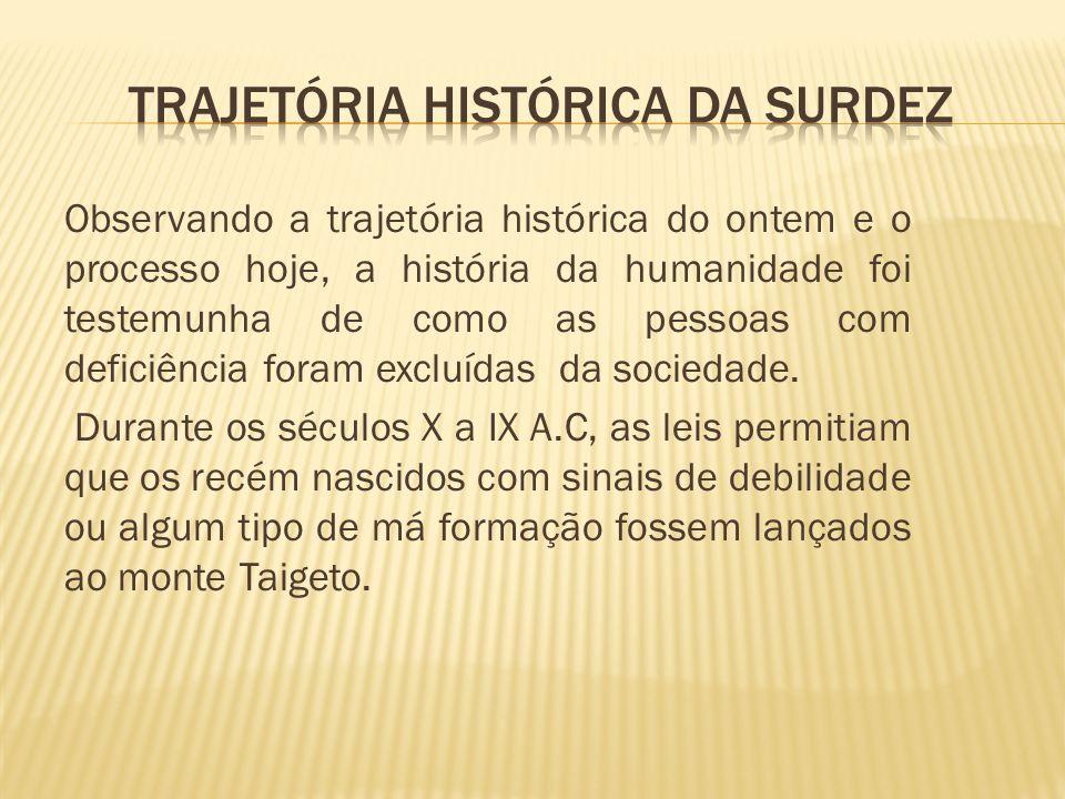 A atenção formal aos portadores de deficiência, no Brasil, iniciou-se com a criação de internatos, ainda no século XIX, idéia importada da Europa, no período imperial.