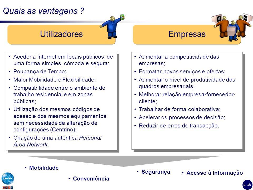 p.4 Quais as vantagens .