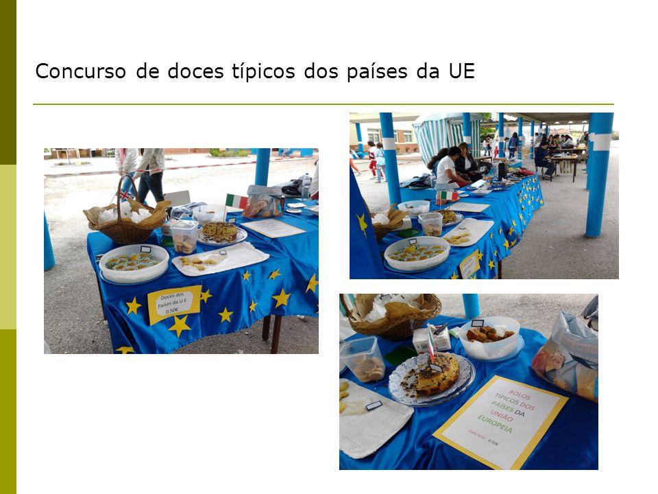Concurso de doces típicos dos países da UE