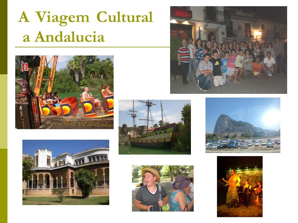 A Viagem Cultural a Andalucia