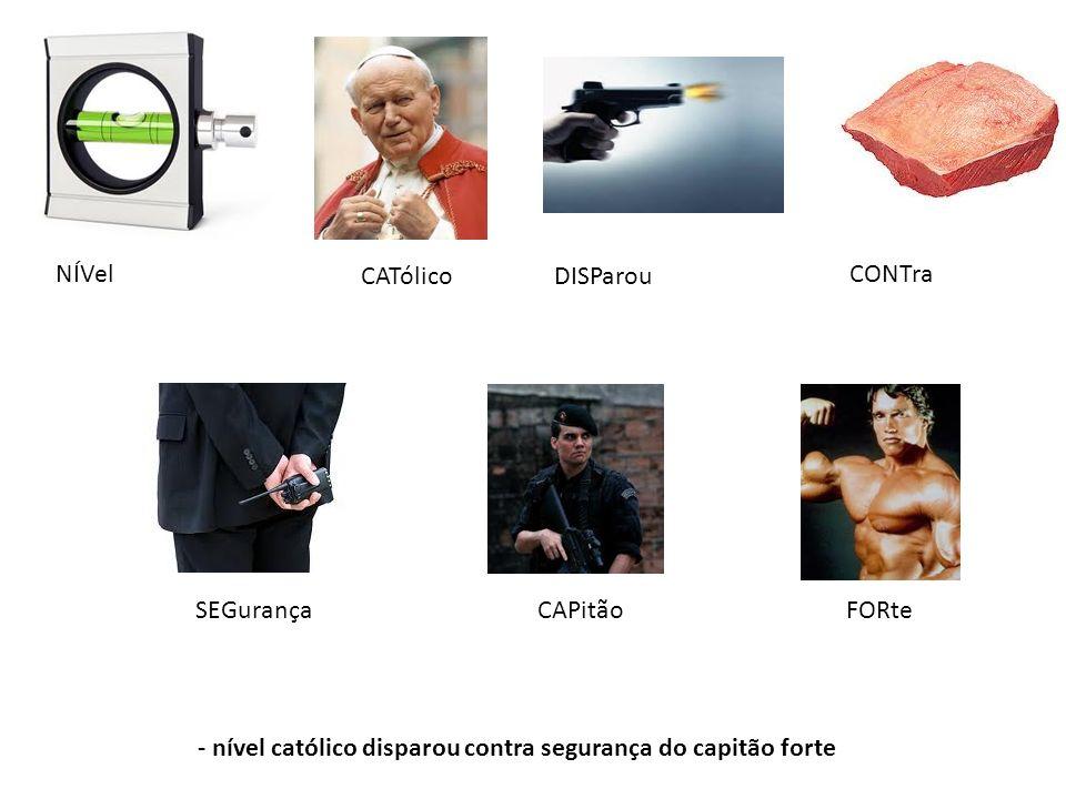 NÍVel CATólicoDISParou CONTra SEGurançaFORteCAPitão - nível católico disparou contra segurança do capitão forte