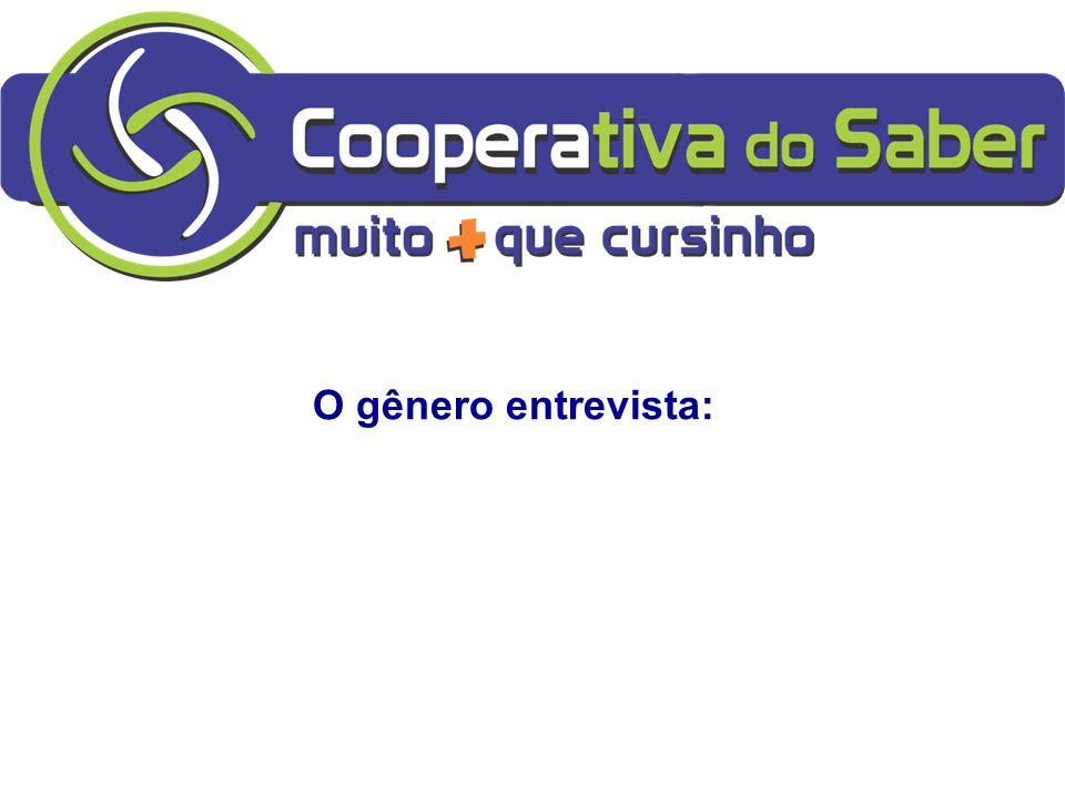A DISSERTAÇÃO NO ENEM: Profa: Soninhawww.profasoninha.weebly.com O gênero entrevista: