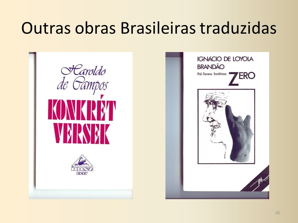Outras obras Brasileiras traduzidas 45