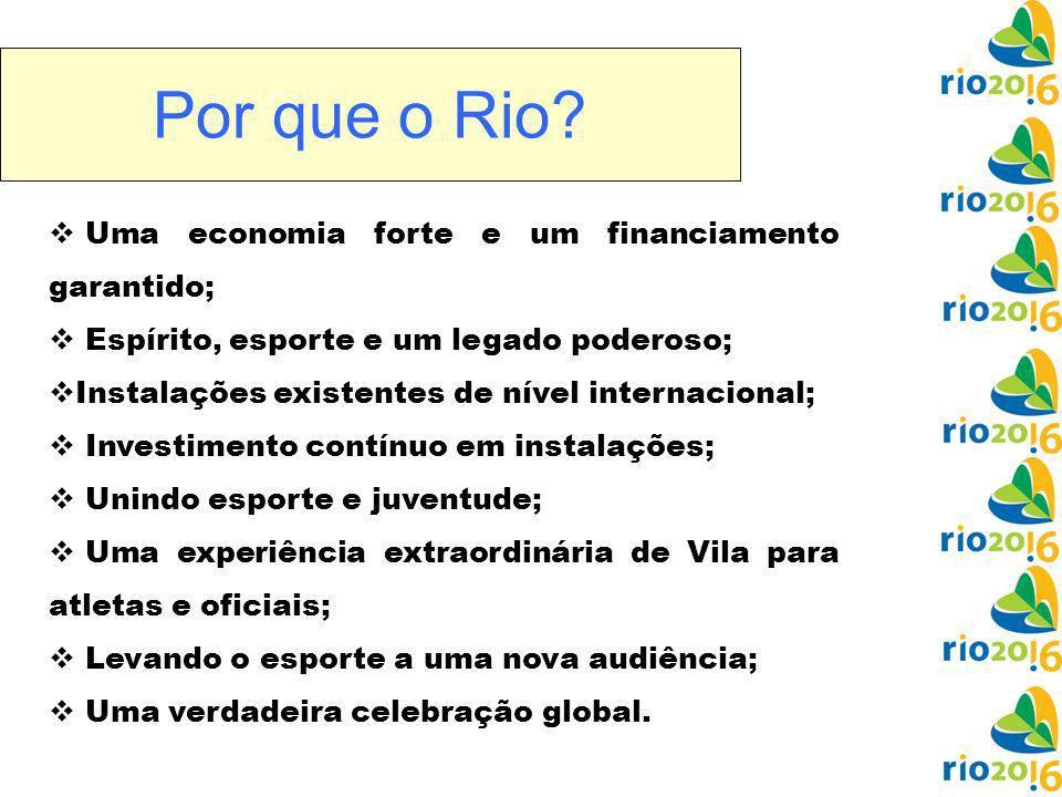 Por que o Rio.