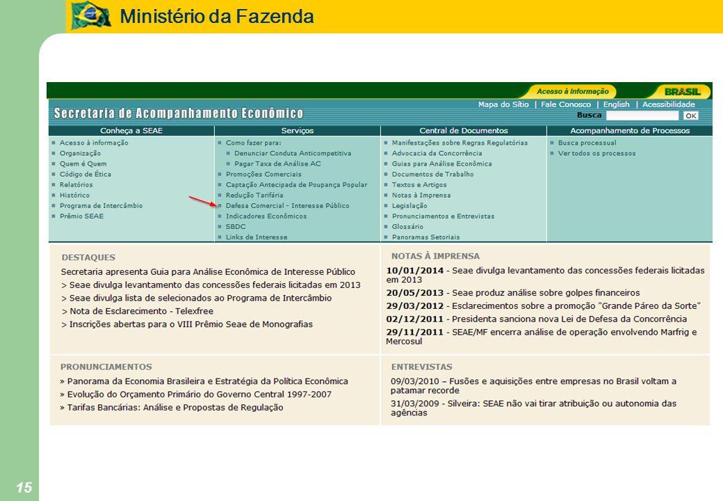 Ministério da Fazenda 15